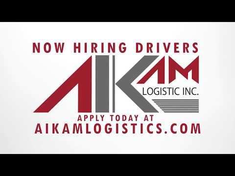 Aikam Logistics is Hiring!
