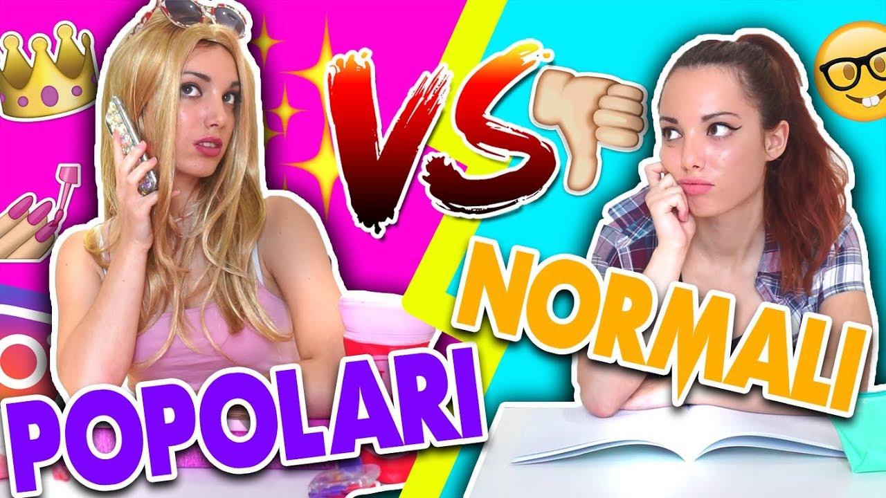 Popolari VS Normali A SCUOLA