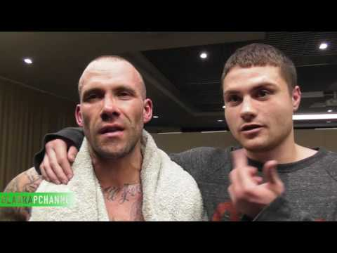 """Post Fight with Ben Nelson after victory - """"This was my last fight"""""""