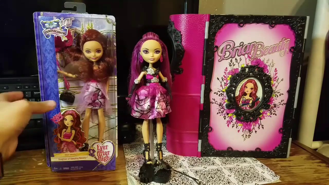 Ever After High: Rerelease Thronecoming Briar Beauty Doll ... Ever After High Dolls Briar Beauty Thronecoming