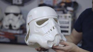 Trimming Face, Back & Cap - Building a Screen Accurate Stormtrooper Helmet - S01E01