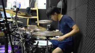 Wilfred Ho - Native Construct - Mute - Drum Cover