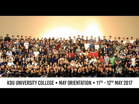 KDU ORIENTATION DAY 1 (Campus Tour)