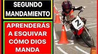Imagen del video: 2º Mandamiento del motero: aprenderás a esquivar; con Chicho Lorenzo