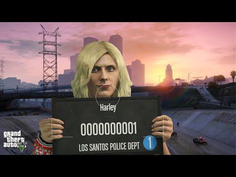 GTA V How to look like Harley Quinn from Suicide Squad