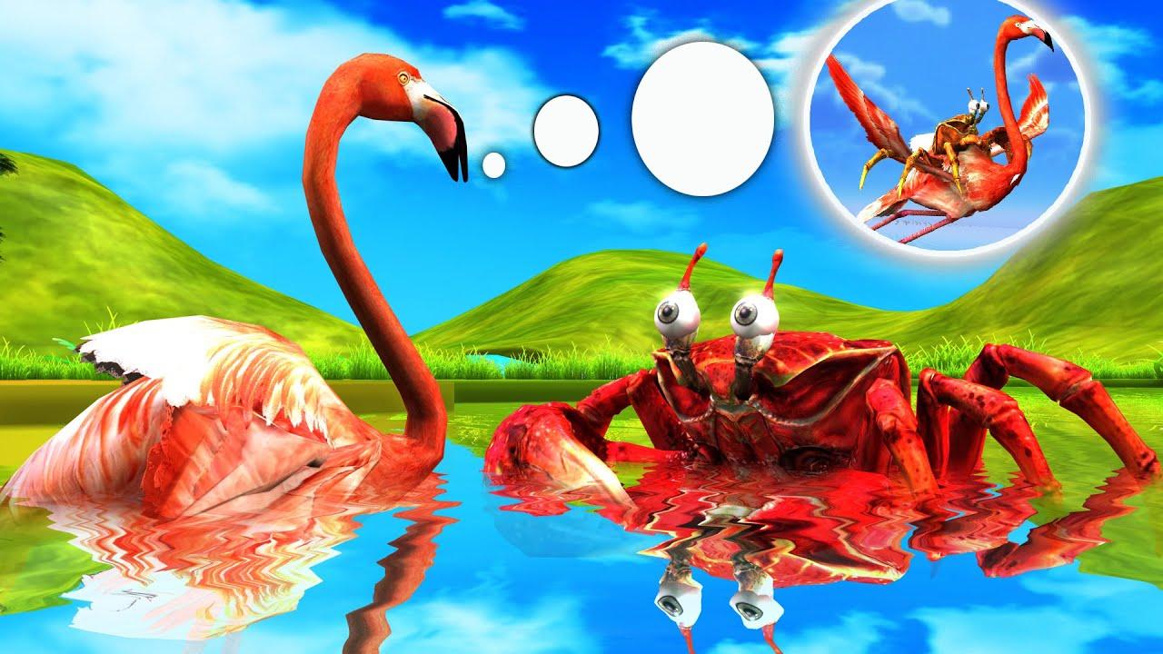 बडा केकड़ा और हंस कहानी Big Crab and Swan Story Hindi Kahaniya हिंदी कहनिया