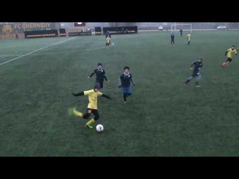 1 тайм ФК Атлет(2 ) U11 Киев -   ФК Десна (2) U11 Чернигов (7+1)  12.12.2019
