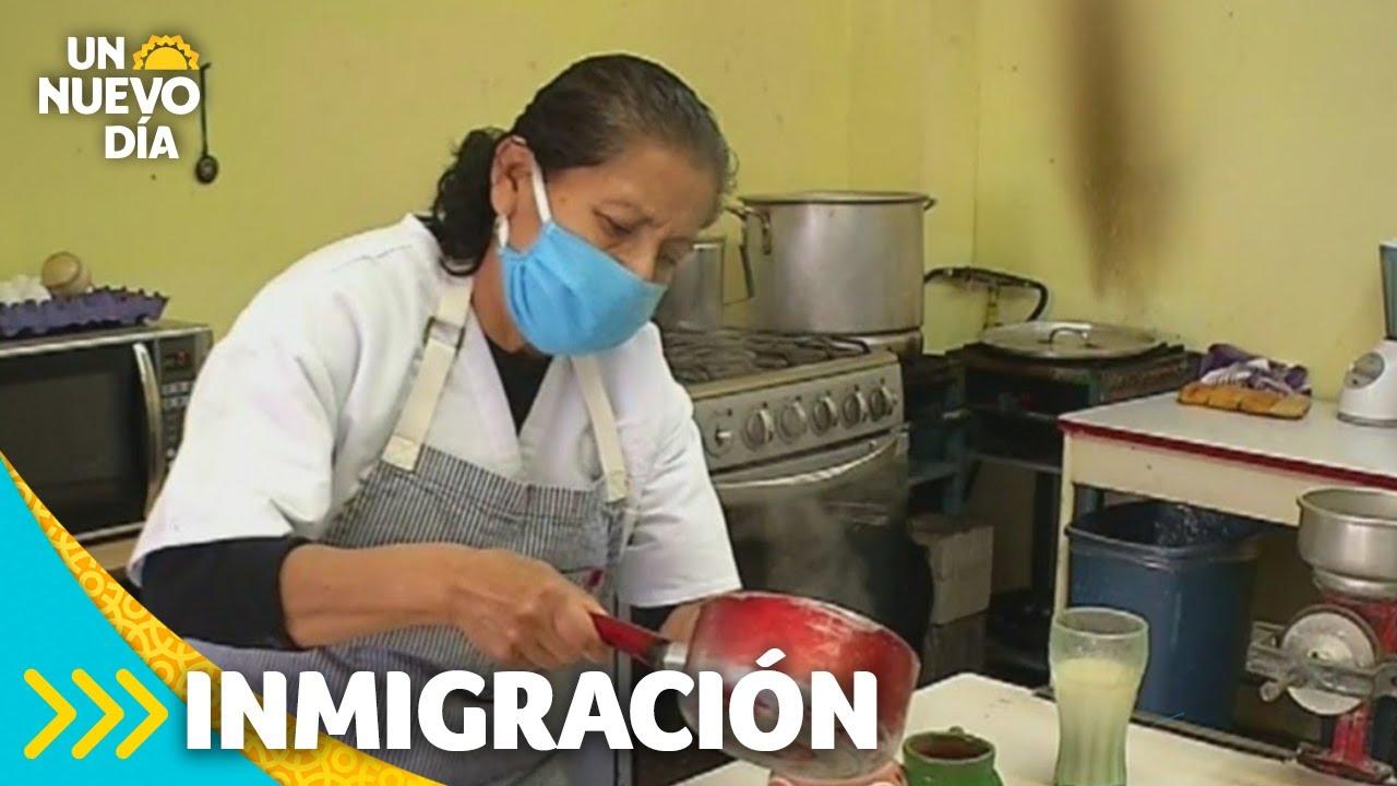 La tamalera de Tijuana que alimenta a migrantes | Un Nuevo Día | Telemundo