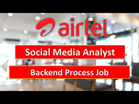 Airtel Social Media Analyst Job 2020 | How To Apply Online #EmploymentGuruji