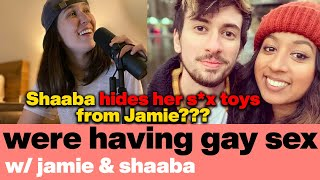 Jamie & Shaaba Analyzed Your Genitals Sophie   Lesbian & Queer Dating   We're Having Gay Sex Podcast