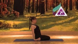 Yoga - Supta Virasana (Reclining Hero)