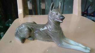 Статуэтки собак в Антикварной лавке г. Нефтекамск