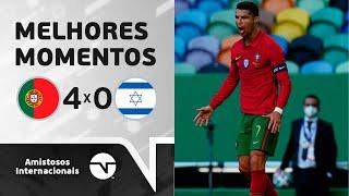 CR7 TÁ ON!!! PORTUGAL 4 X 0 ISRAEL - MELHORES MOMENTOS