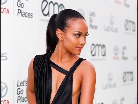 Karrueche Tran Talks Environment at the EMA Awards thumbnail