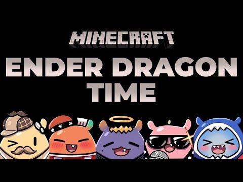 【Minecraft】 Ender Dragon Hunt with HoloEN!!!
