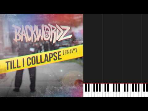 How to play 'Till I Collapse by Eminem on Piano Sheet Music