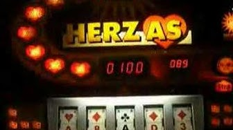 Herz As Geldspielautomat von Merkur ADP Gauselmann