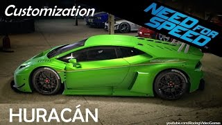 Need For Speed 2015 | Car Customization & Tuning - Lamborghini Huracan LP 610-4 Gameplay (PS4, Xbox)