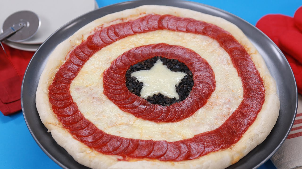 Image result for avengers pizza