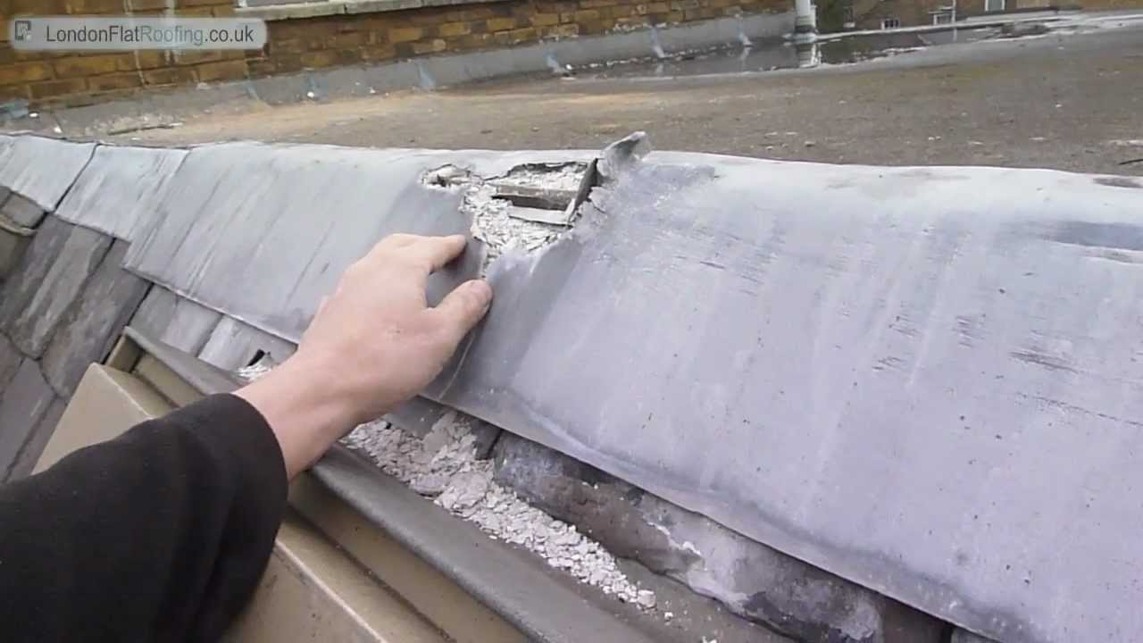 Lead On Flat Roofs Oxidising Youtube