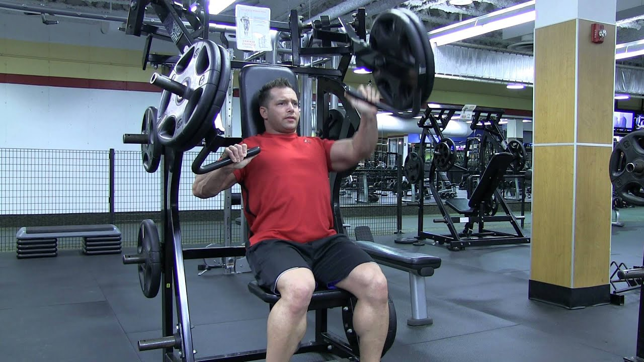 Unilateral Hammer Strength Incline Chest Press - YouTube