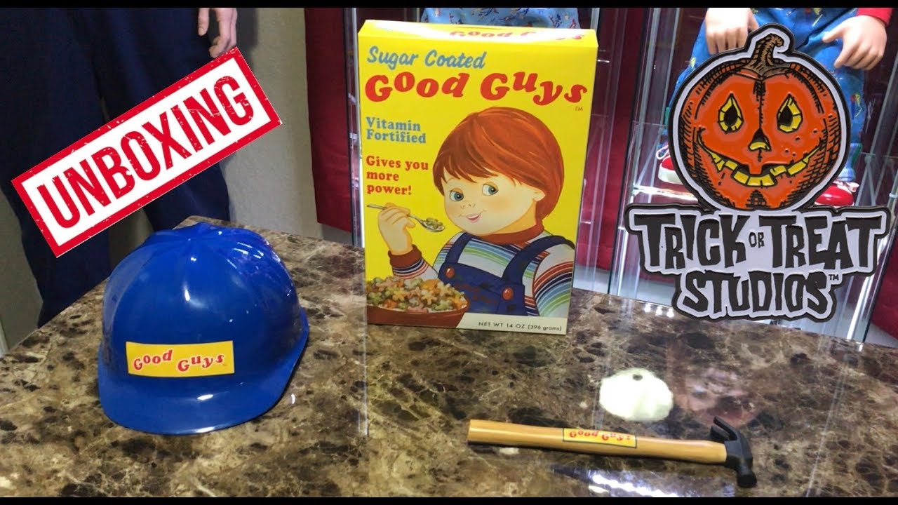 Trick Or Treat Studios Good Guy Doll Accessories Unboxing and Review