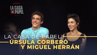 'La Casa de Papel' [tercera temporada] Entrevista a Úrsula Corberó y Miguel Herrán