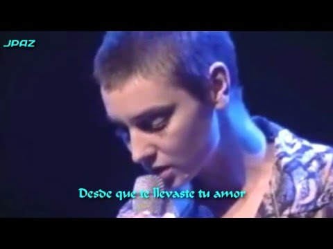 Nothing Compares 2U - Sinéad O'Connor - (Subtítulos En Español)