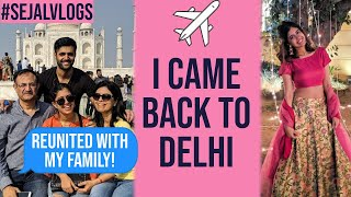 Sejal Vlogs: Going HOME! WEDDING, Visiting Taj Mahal, Family Fun! | Sejal Kumar