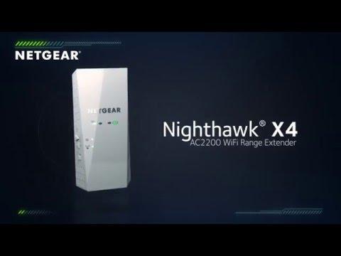 NETGEAR Nighthawk® X4 AC2200 WiFi Range Extender Product Tour - YouTube