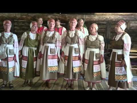Russia - Vepses Choir Shyoltozero / Вепсский Хор, с. Шелтозеро