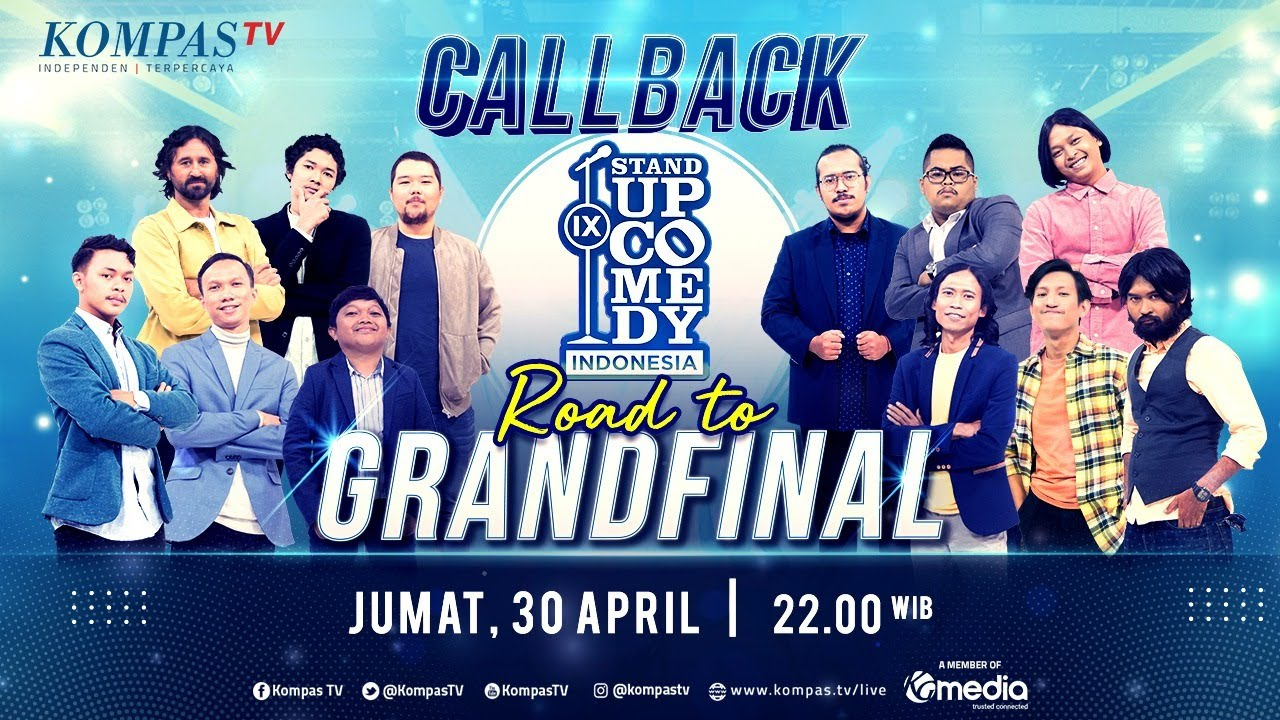 [LIVE] Stand Up Comedy Indonesia (SUCI IX) Babak Callback - ROAD TO GRAND FINAL