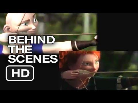 Brave Behind The Scenes - Filming Process (2012) - Pixar Animated Movie HD