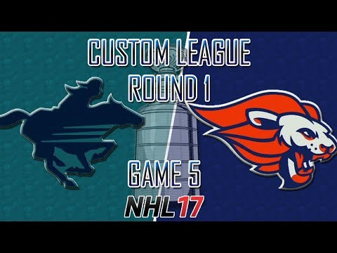 NHL 17 - Custom League - Calgary @ Baltimore Round 1 Game 5