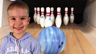 Боулинг игра в боулинг для детей kid Play bowling, jeu de bowling pour les enfants,儿童保龄球游戏