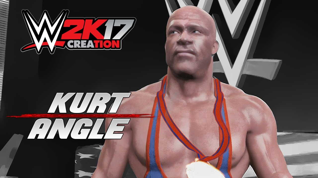 Wwe 2k17 Caw Creation Kurt Angle Youtube