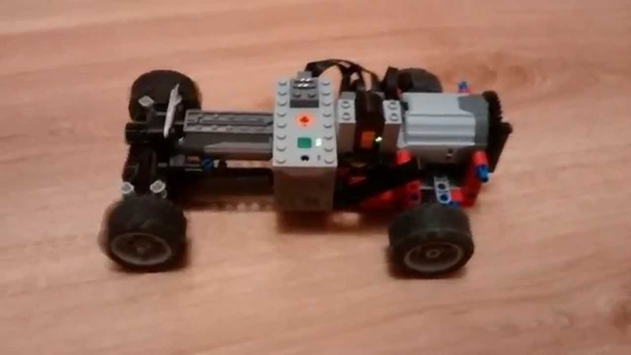 Small lego power functions car - YouTube