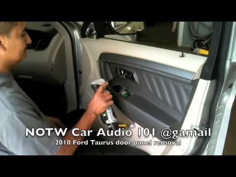 2010 Ford Taurus Door Panel Removal Youtube