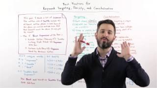 Keyword Targeting, Density, and Cannibalization - Whiteboard Friday