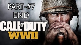 Call of Duty World War 2 FINALE IS HERE #7 | Live Stream | Jayendra shigam