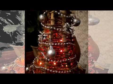 Смотреть онлайн НОВЫЙ ГОД 2017. Наша креативная ёлка. Красавица New Year 2017. Our creative tree. Beauty