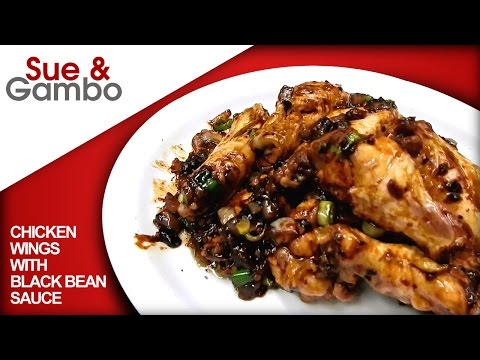 Chicken Wings With Black Beans / Garlic Sauce