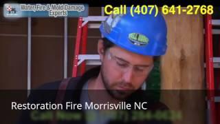 Restoration Fire Morrisville NC (919) 251-6644