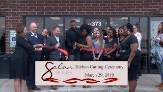 Village of Romeoville Ribbon Cutting 2019 - Salon De Luxe