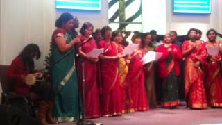 AUSTIN CHRISTIAN FELLOWSHIP OF INDIA (ACFI) HINDI CHRISTMAS SONG, 12-7-2013