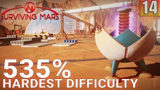 Surviving Mars 535% HARDEST DIFFICULTY - Part 14 - EVERYTHING HAS CHANGED! - Gameplay (1440p)