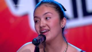 Sara cantó Un Ratito de C. Brant, S. J. y A. Rayo - LVK Col - Audiciones a ciegas – Cap 1 – T2