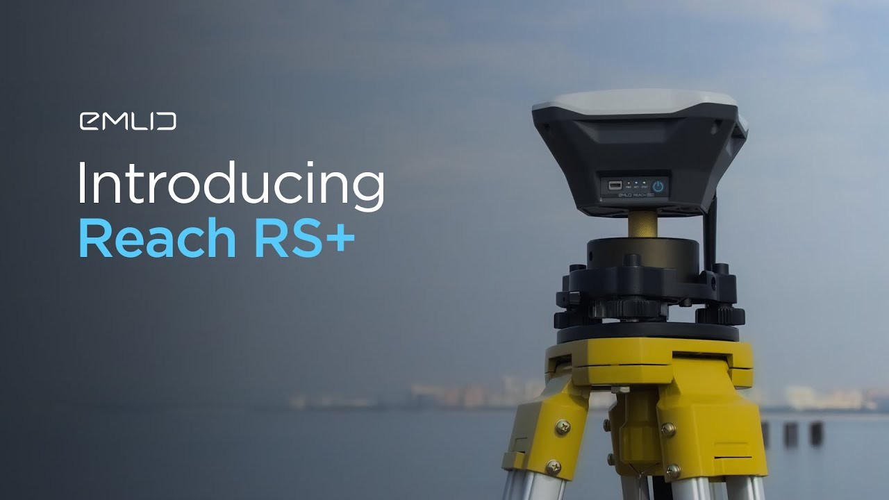 Reach RS+: RTK GNSS receiver with centimeter accuracy