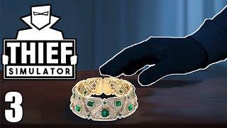 Jewelry Heist! - Thief Simulator Gameplay - Part 3
