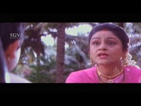 Step Mother Teaching Bad Lesson to Son   Annayaa Kannada Movie Part 01   Ravichandran   Madhoo